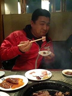 焼き肉o(^▽^)o