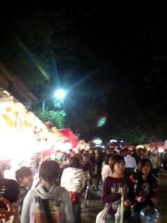 地元の秋祭り