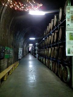 道のトンネル