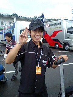 ST600の東浦選手