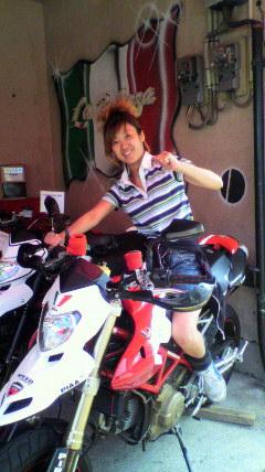 華ぱぱのバイク