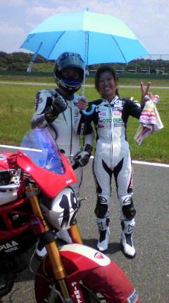 川原英実のレース