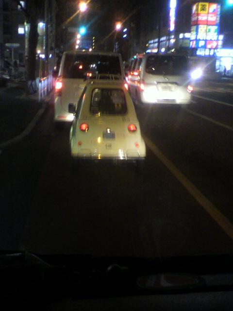 東京街で見かけた面白いもの