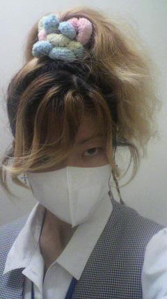 マスクをすると