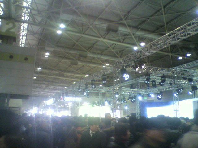 モーターショー展示会