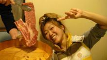 お肉な幸せ顔連発