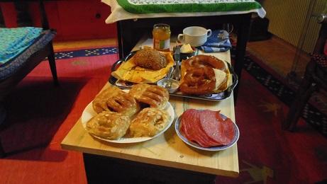 ドイツの朝ご飯