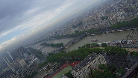 エッフル塔からの景色