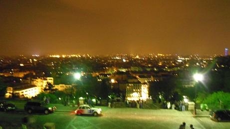 モンマルトルの丘