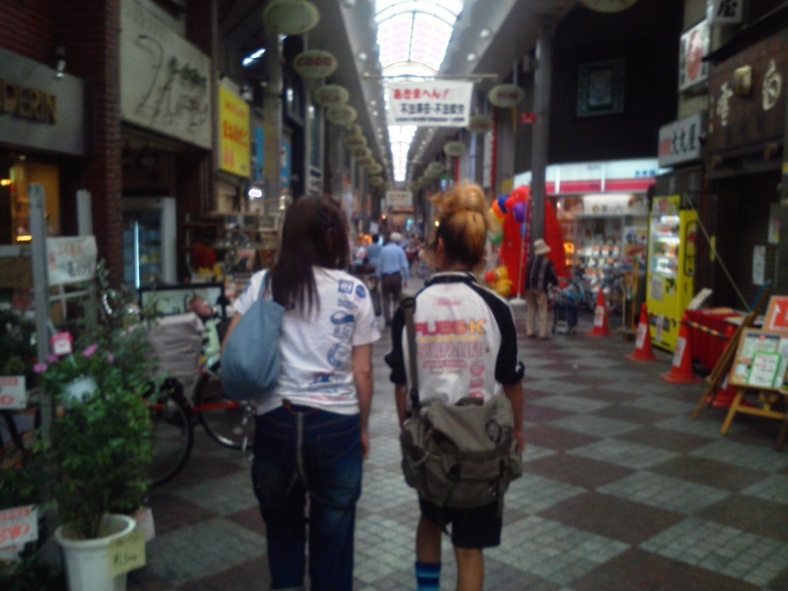 長尾さん夫婦とショッピング