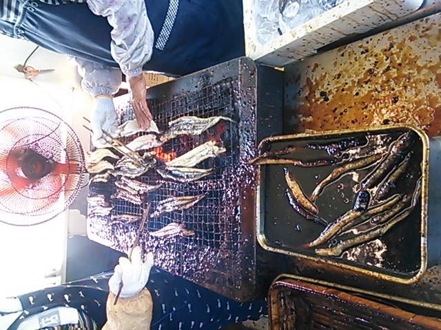 焼きアナゴが美味しい魚増鮮魚店