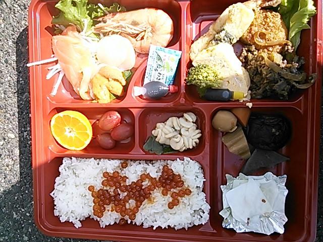 TOHO racing主催でのお昼ご飯