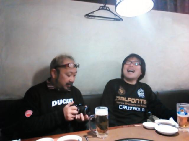 プロカメラマンの石村さん、鶴身さん