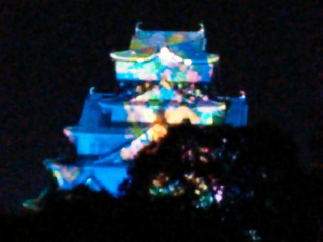 大阪城イルミネーション