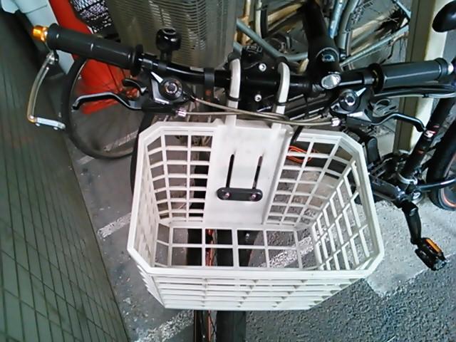 ベビーフェイスさんの自転車ブレーキレバーガード