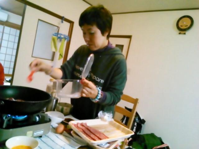焼き肉からの~すき焼き