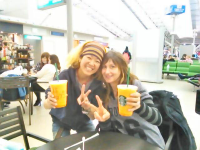 関西空港なう