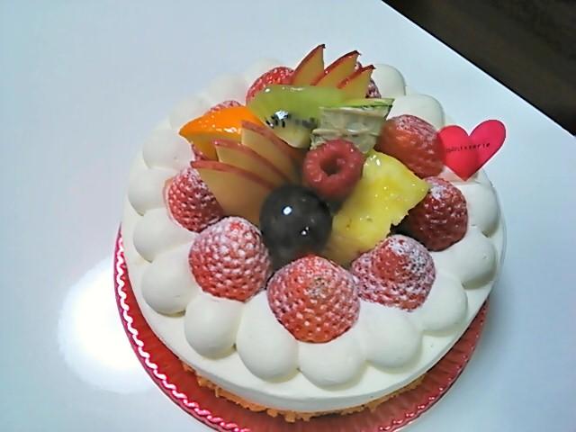 ワンホールのケーキ