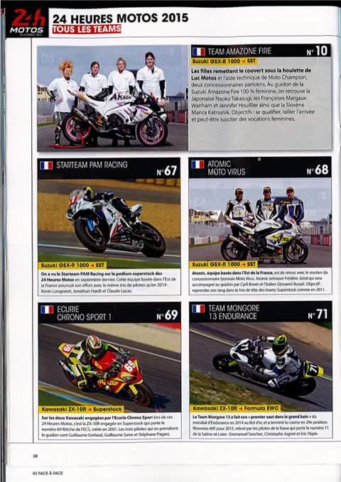 フランスでのモータースポーツ雑誌