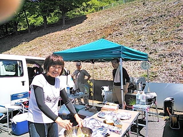 腰山さん夫妻の手作りランチ