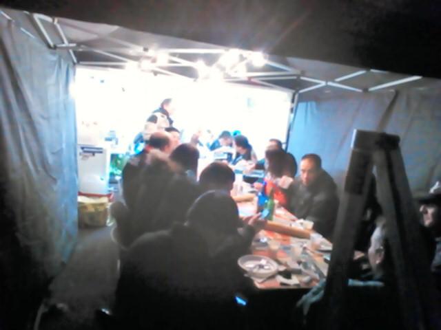 その日の夜ご飯
