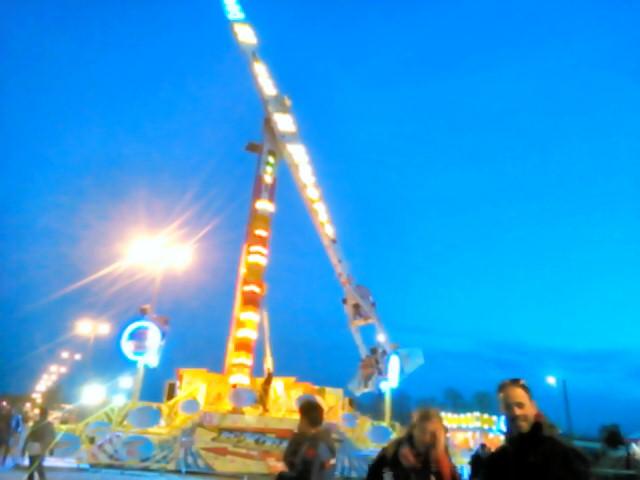 フガッティサーキット中の遊園地