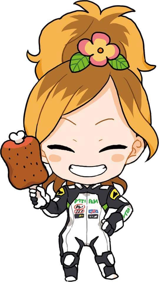 高杉奈緒子裏キーホルダー 肉バージョン