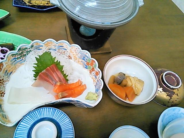 菅生全日本でのご飯