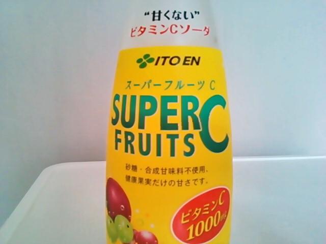 伊藤園 甘くないビタミンCソーダ スーパーフルーツC