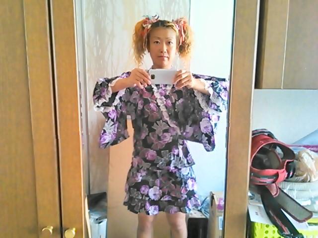 ギャル系浴衣