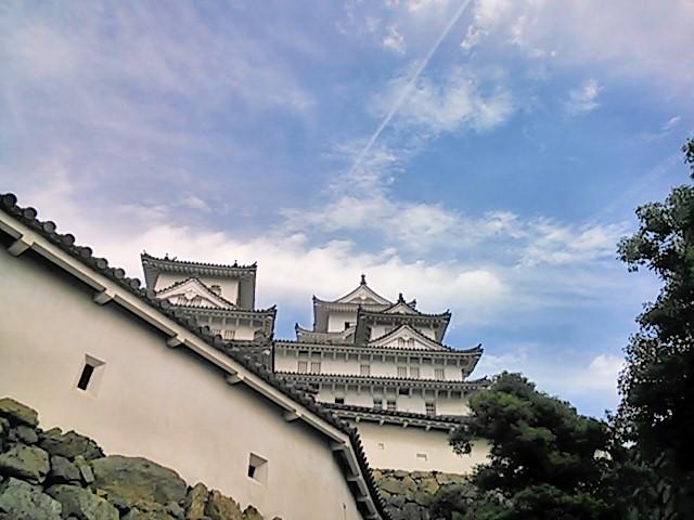土曜日の姫路城