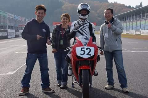 室井さんの初レース