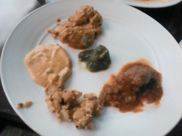 インドでの食事