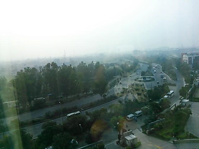 ホテルからの光景