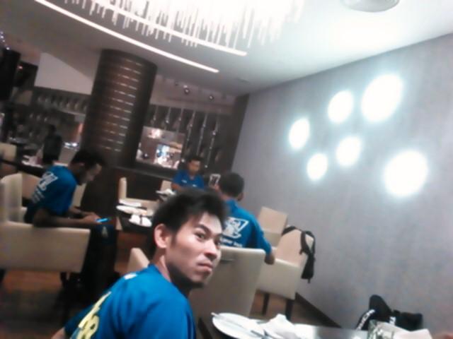 ホテルでご飯