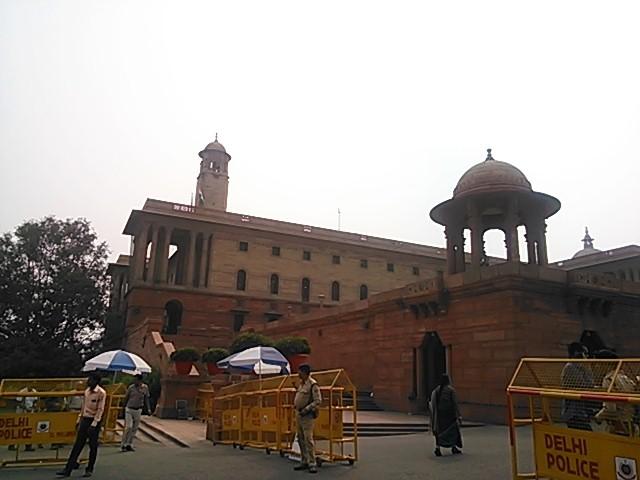 インドの偉いさんの家