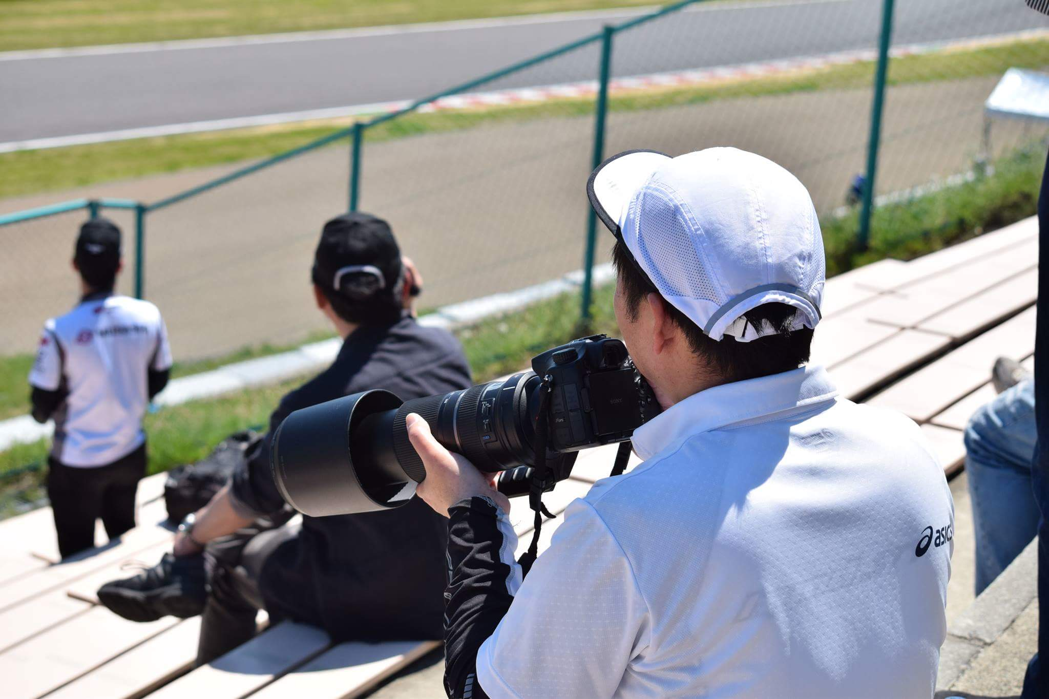 レースカメラマン